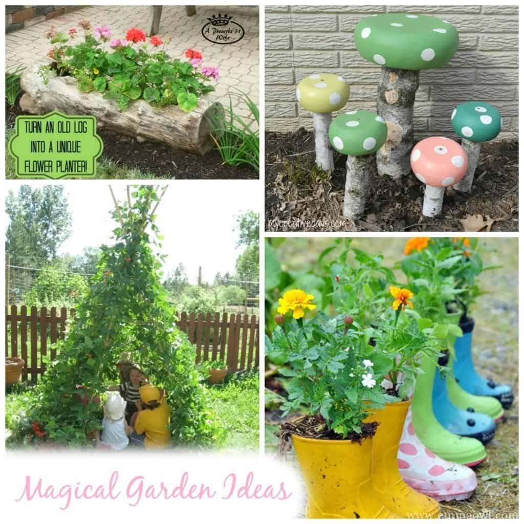 Magical Garden Inspiration Great Diy Garden Ideas Emma Owl