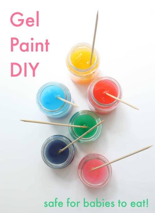 easy diy gel paint