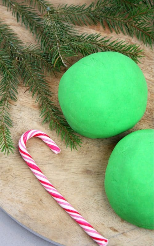 Peppermint Christmas Play Dough