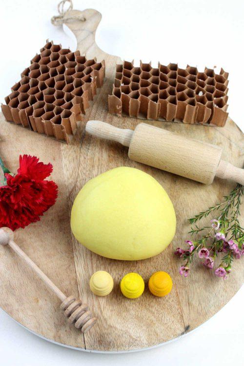 Bee Play Dough Recipe