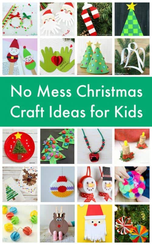 No Mess Christmas Craft Ideas For Kids Emma Owl