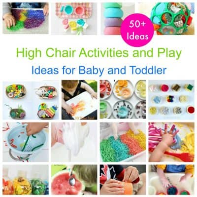 high chair ideas for baby and toddler