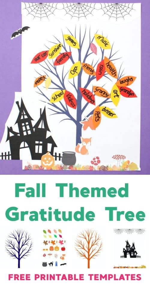 Free Printable Fall Leaf and Tree Templates