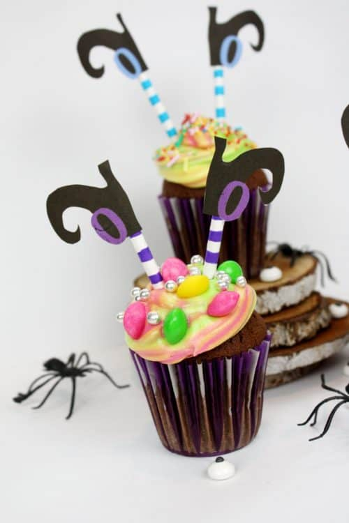 Witch Cupcake Toppers