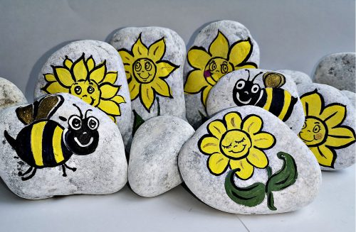 story stone painting