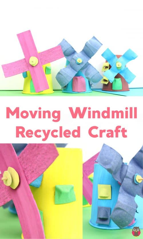 Recycled windmill craft