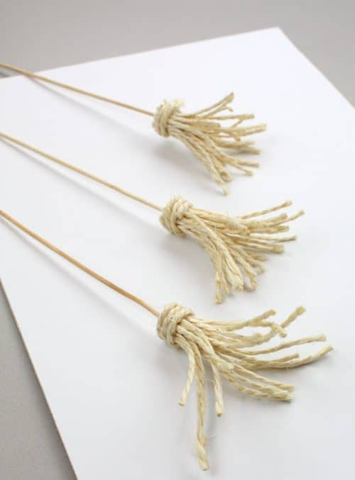 Witches Broom Fruit Skewers