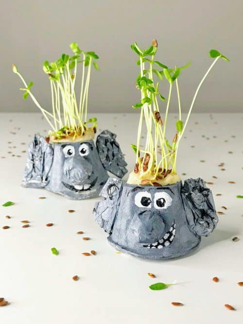 Microgreen Trolls - Growing Activity for Kids