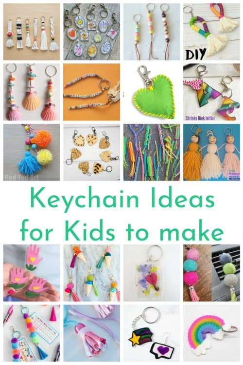 25+ DIY Keychain Ideas For Kids To Make