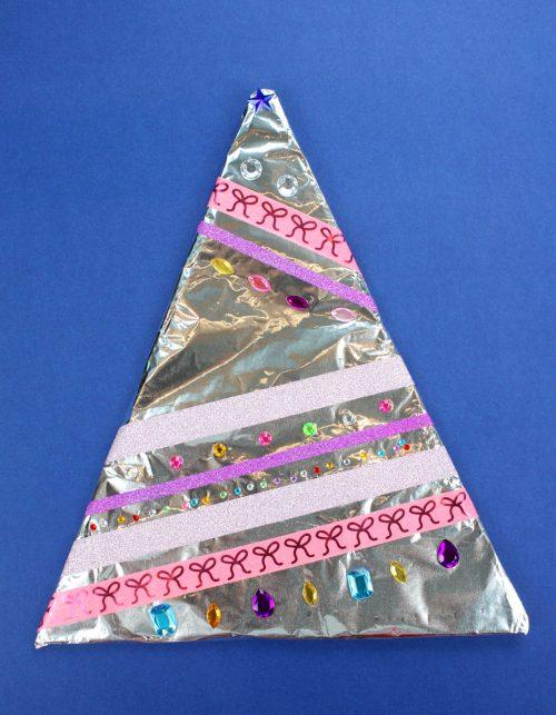 Aluminum Foil Christmas Tree Decorations