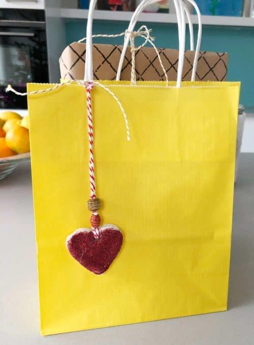 Easy slat dough gift hangers - a great kids activity