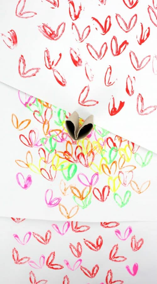 James Goldcrown Hearts - Easy Recycled Art Project