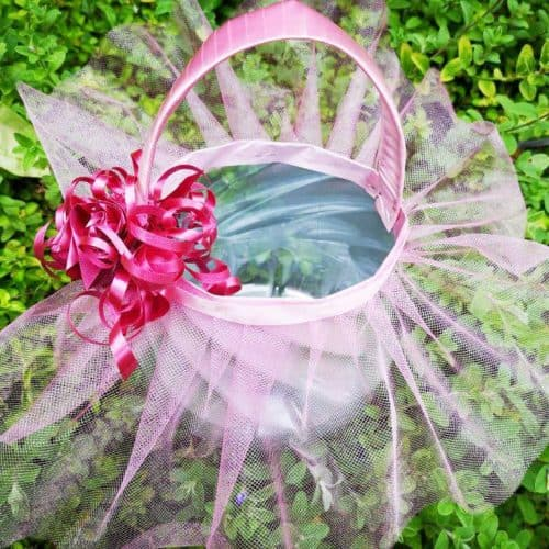 Recycled Ballet Easter Baskets
