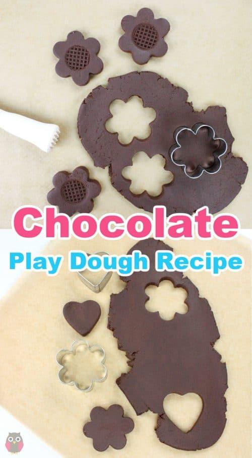 easy no-cook chocolate play dough recipe