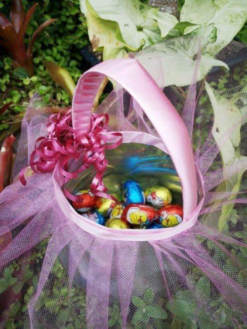 Ballet Easter Basket - Recycled Ballet Easter Baskets